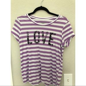 Victoria's Secret striped shirt